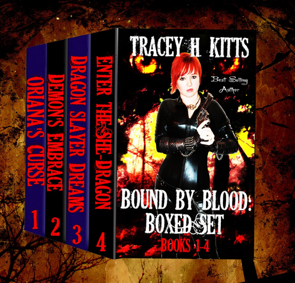 Book Cover: Bound by Blood (Books 1-4)